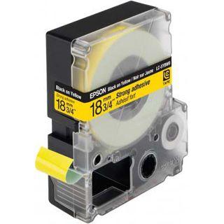 Epson LC-5YBW9 schwarz auf gelb Etikettenkassette (1 Rolle (1.8 cm x 9 m))