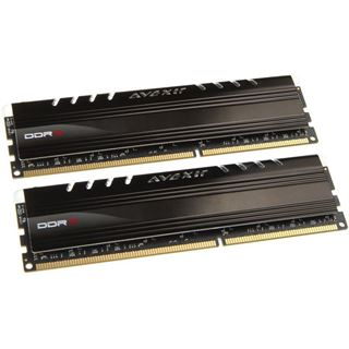 8GB Avexir Core Series blaue LED DDR3-1600 DIMM CL9 Dual Kit