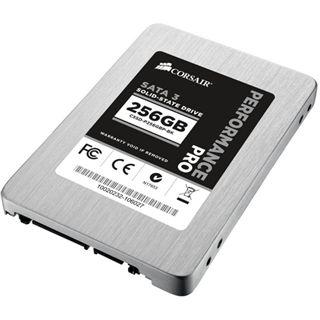 "256GB Corsair Performance Pro Series 2.5"" (6.4cm) SATA 6Gb/s MLC synchron (CSSD-P256GBP-BK)"