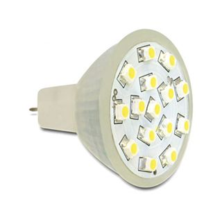 Delock Lighting MR11 15x SMD Warmweiß GU4 A