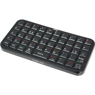 LogiLink Mini Bluetooth Deutsch schwarz (kabellos)
