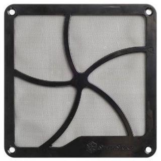 Silverstone 120mm quadratisch magnetisch Staubfilter für Gehäuse (SST-FF122B)