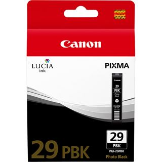 Canon Tinte PGI-29PBK 4869B001 schwarz photo
