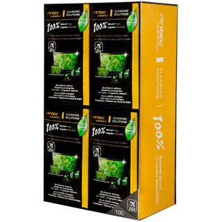 Antec 100% Natural Wipes elektronische Geräte Reinigungstuch 100 Stück (0-761345-77452-9)