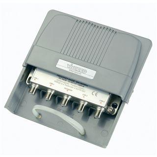 Vivanco DSW4-N DISEqC Switch 1/4 mit Wetterschutzgehaeu