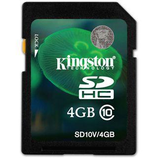 4 GB Kingston Video HD SDHC Class 10 Bulk