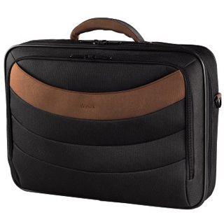 Hama Notebook-Tasche PETersburg, Displaygrößen bis 40cm (15,6), Schwarz/Braun