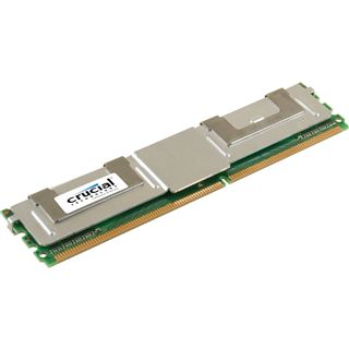 1GB Crucial DDR2-667 ECC DIMM CL5 Single
