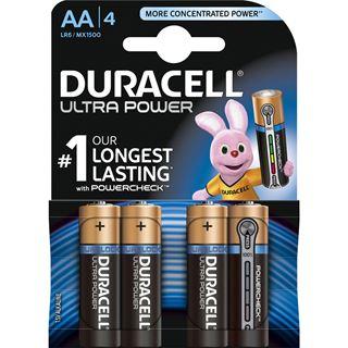 Duracell Ultra Power AA / Mignon Alkaline 1.5 V 4er Pack