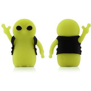 4 GB Bone Alien Driver gelb USB 2.0