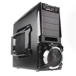 AeroCool Vx-E Pro Advance Midi Tower ohne Netzteil schwarz