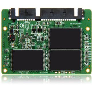 "16GB Transcend Half-Slim II 1.8"" (4.6cm) SATA 3Gb/s MLC asynchron (TS16GHSD310)"