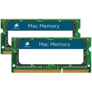 16GB Corsair Mac Memory DDR3-1333 SO-DIMM CL9 Dual Kit