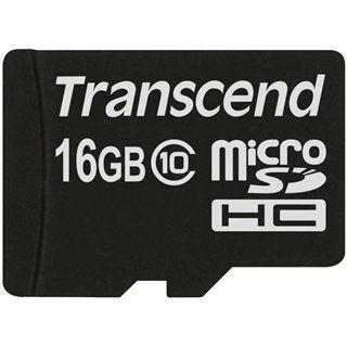 16 GB Transcend Extreme-Speed microSDHC Class 10 Bulk
