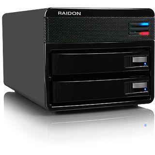 """ICY BOX RAIDON GR3650-B3 3.5"""" (8,89cm) USB 3.0 schwarz"""