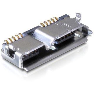 Good Connections Adapter USB 3.0 USB Mikro Buchse auf Einbaubuchse