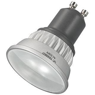 Strahler GU10 mit 24 superhellen SMD LED�s, warmweiß, 120 lm, 3W, 230V, 2700 K