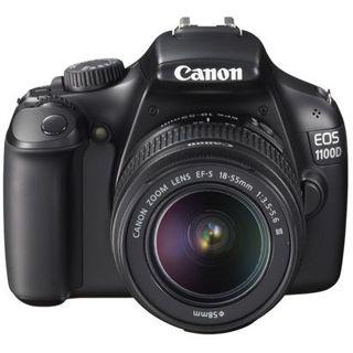 Canon EOS 1100D + EF-S 18-55 III - 12,2 Mpix, HD Video, 6,8c
