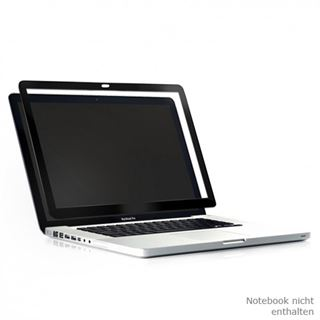 Moshi Schutzfolie iVisor Silver MacBook Air schwarz