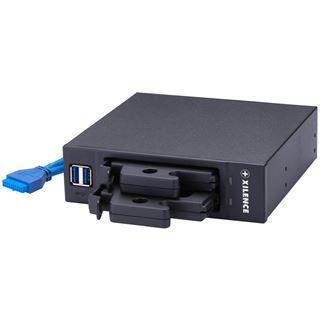 """Xilence schwarzes SSD-Gehäuse für 5,25"""" (ZUB-XPSSD)"""