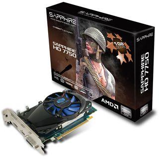 1024MB Sapphire Radeon HD 7750 Aktiv PCIe 3.0 x16 (Lite Retail)