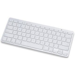Manhattan Tablet Mini-Tastatur Bluetooth Deutsch weiß/silber (kabellos)