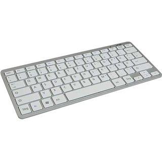 Wintech MKB-25 Mini-Keyboard Funk USB2.0 weiß/silber