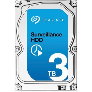 """3000GB Seagate Surveillance HDD ST3000VX000 64MB 3.5"""" (8.9cm) SATA 6Gb/s"""