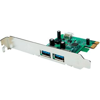 Buffalo IFC-PCIE2U3S2-EU 2 Port PCIe 2.0 x1 Low Profile retail