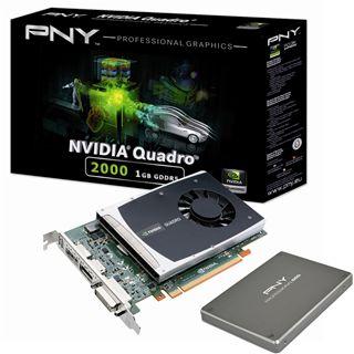 1GB PNY Quadro 2000 PCIe 2.0 x16 (Retail)