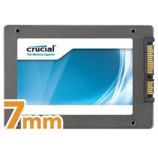 "128GB Crucial m4 Slim 2.5"" (6.4cm) SATA 6Gb/s MLC synchron (CT128M4SSD1)"