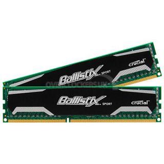 4GB Crucial Ballistix Sport DDR2-800 DIMM CL5 Dual Kit