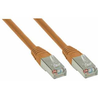 (€0,55*/1m) 20.00m Good Connections Cat. 6 Patchkabel S/FTP PiMF RJ45 Stecker auf RJ45 Stecker Braun