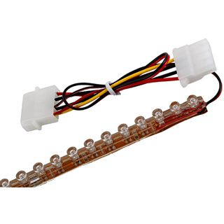 LAMPTRON 12 cm UV LED-Strip mit 12 LEDs für 4-Pin Molex (LAMP-LEDFL1205)