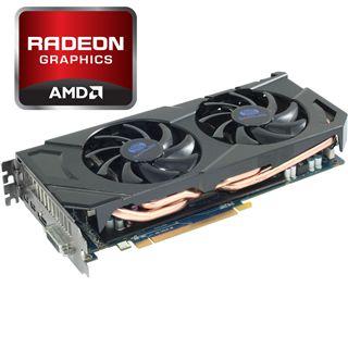 2048MB Sapphire Radeon HD 7870 Aktiv PCIe 3.0 x16 (Retail)