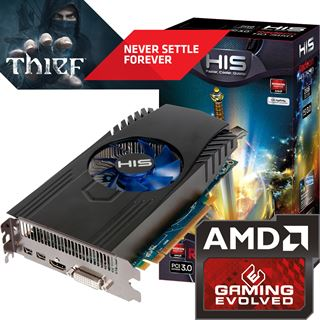 2048MB HIS Radeon HD 7850 Aktiv PCIe 3.0 x16 (Retail)