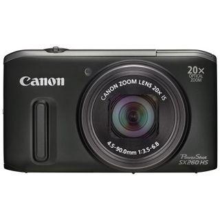 Canon PowerShot SX260 HS schwarz