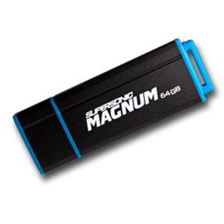 64 GB Patriot Supersonic Magnum schwarz/blau USB 3.0