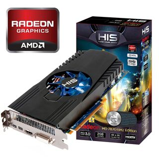 2048MB HIS Radeon HD 7870 GHz Edition Aktiv PCIe 3.0 x16 (Retail)