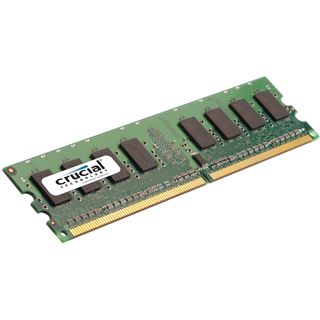 1GB Crucial Value DDR2-667 DIMM CL5 Single