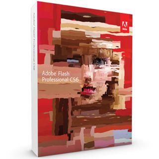 Adobe Flash Professional CS6 64 Bit Deutsch Grafik Vollversion PC (DVD)