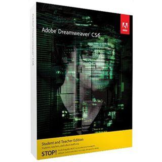 Adobe Dreamweaver CS6 64 Bit Deutsch Webdesign EDU-Lizenz PC (DVD)