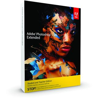 Adobe Photoshop Extended CS6 32/64 Bit Deutsch Grafik EDU-Lizenz Mac (DVD)