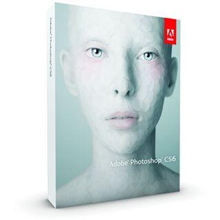 Adobe Photoshop CS6 32/64 Bit Deutsch Grafik FPP Mac (DVD)