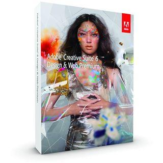Adobe CS6 Design+Web Prem V6 Win Upgrade (DE) DVD/ Win