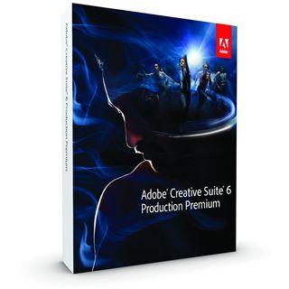 Adobe Creative Suite 6.0 Production Premium 64 Bit Deutsch Grafik Update Mac (DVD)