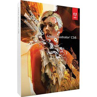 Adobe Illustrator CS6, Update von CS3/CS4/CS5 32/64 Bit Deutsch Grafik Update Mac (DVD)