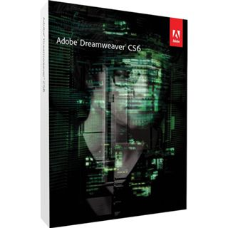 Adobe Dreamweaver CS6 32/64 Bit Deutsch Webdesign FPP PC (DVD)
