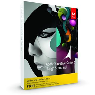 Adobe Creative Suite 6.0 Design Standard Deutsch Grafik EDU-Lizenz Mac (DVD)