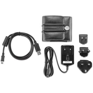 """Garmin Zubehör Set für nüvis 3,5"""" + 4,3"""" Tasche/Micro+Mini USB/Net"""